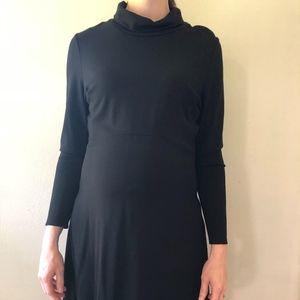 Seraphine Vanessa Maternity Dress Turtleneck